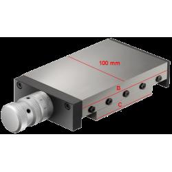 Coulisse à module standard type 100