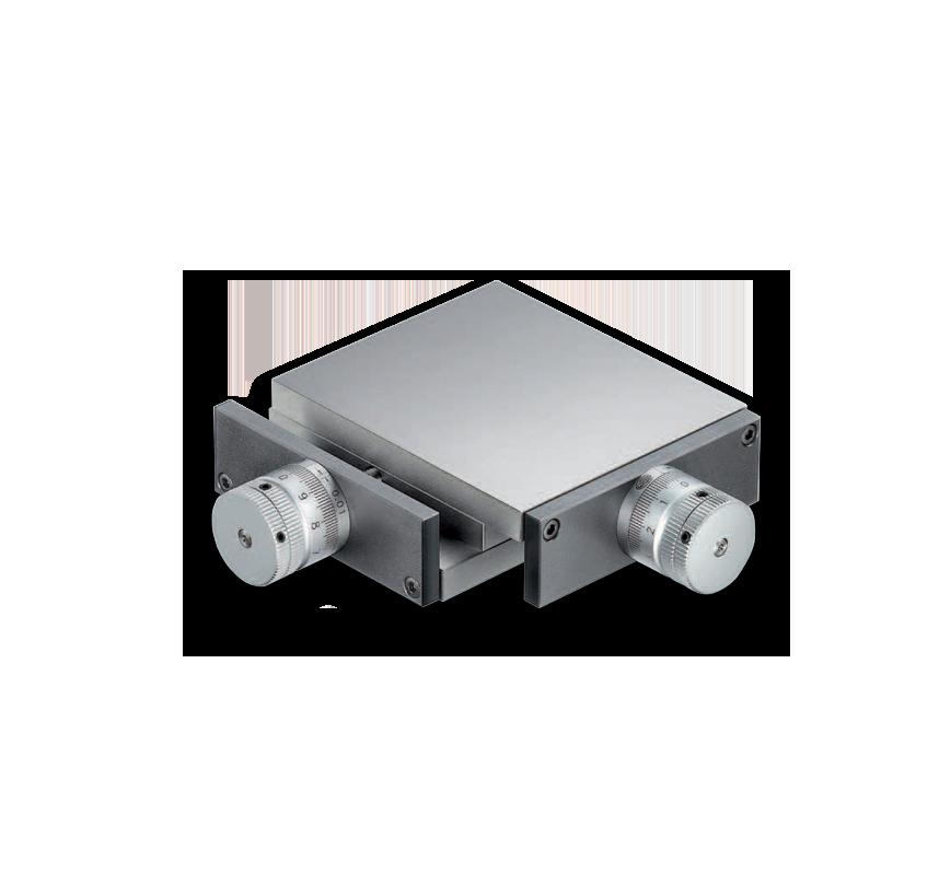 Schmal Mikrometertisch XY
